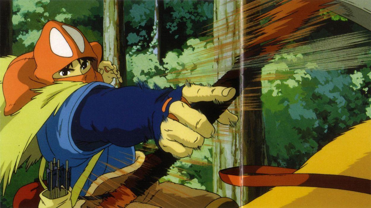 Princess Mononoke Ashitaka Bow Weapon Yakuru Wallpaper 2342x1313 261871 Wallpaperup
