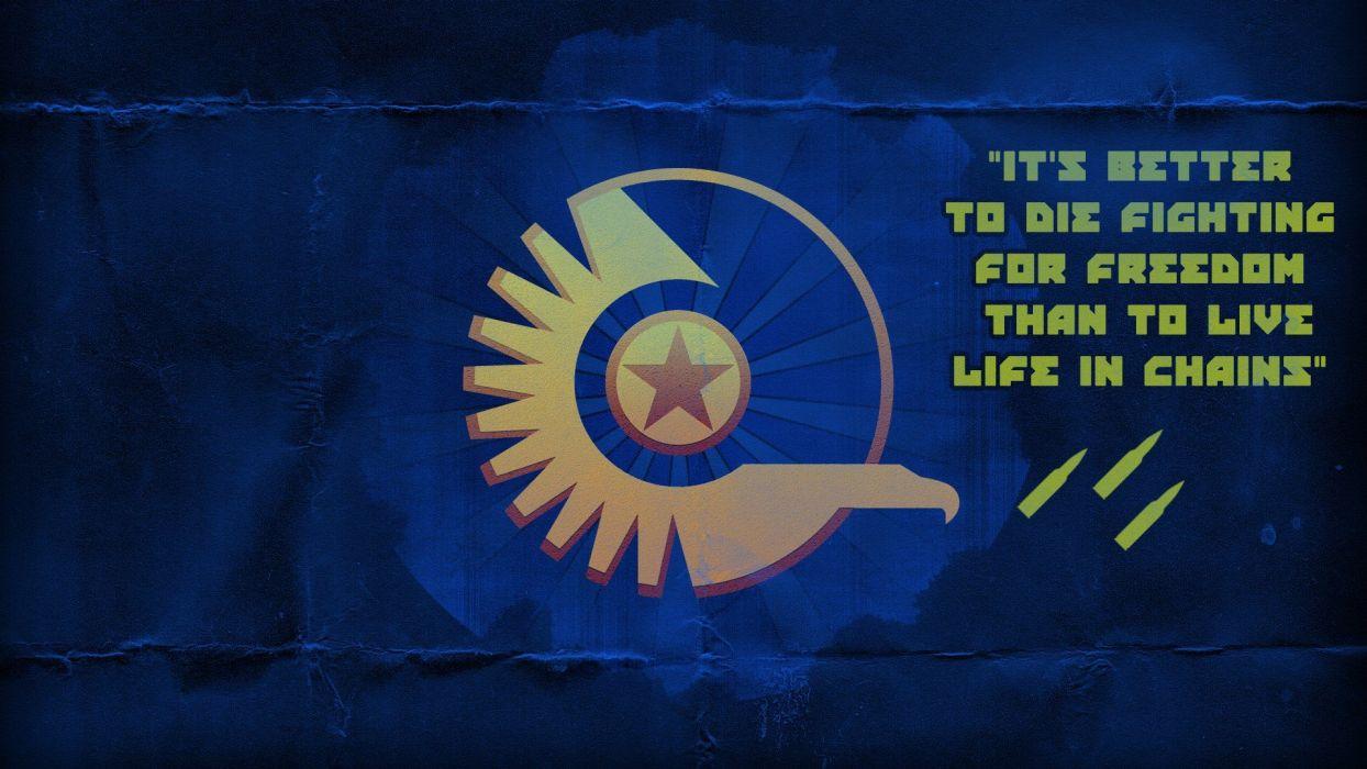 blue war propaganda Planetside 2 New Conglomorate conglomerate Planetside wallpaper