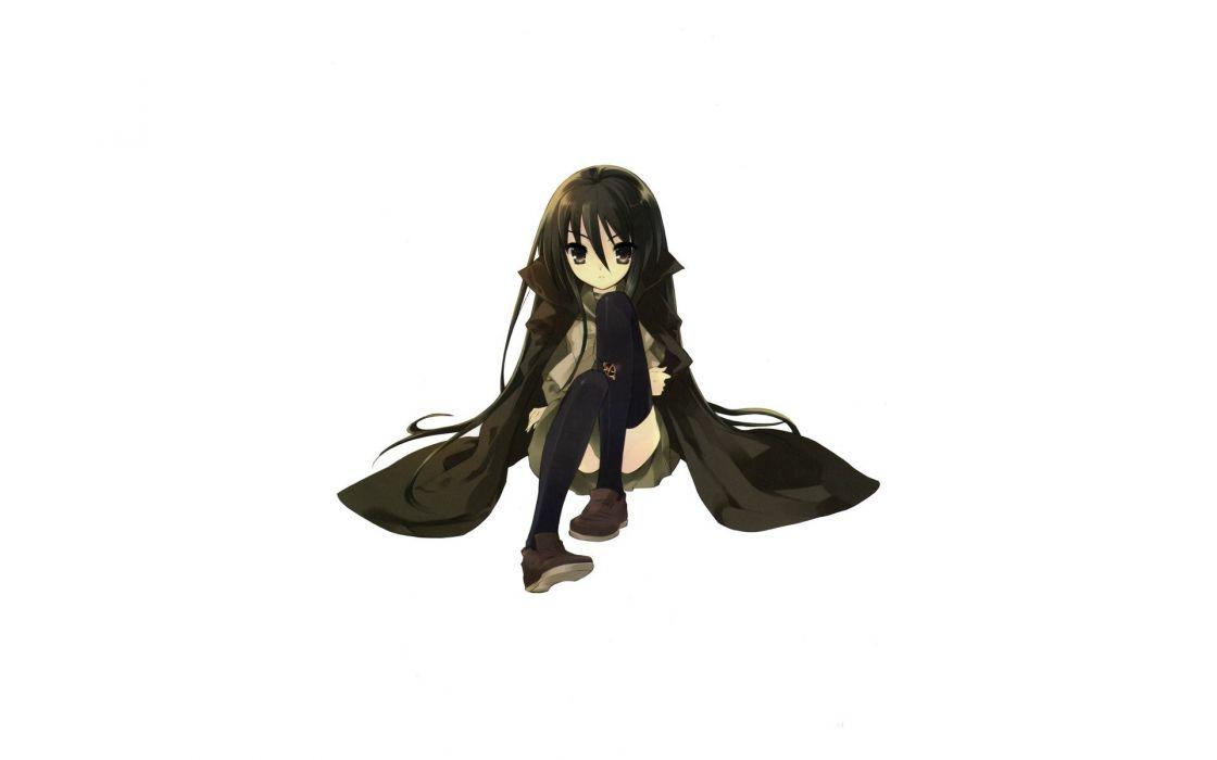 Shakugan no Shana long hair cloaks Noiji Itou anime girls wallpaper
