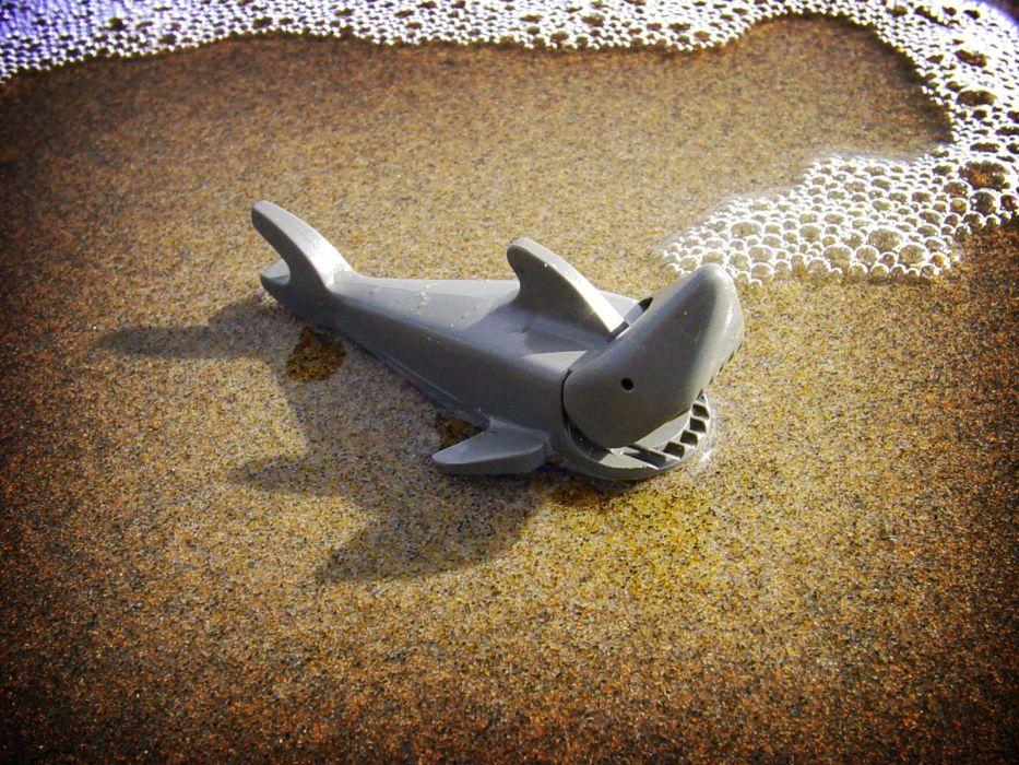 sharks Legos wallpaper