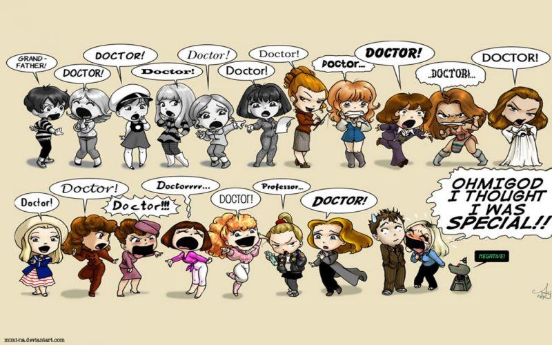 Companion Doctor Who wallpaper