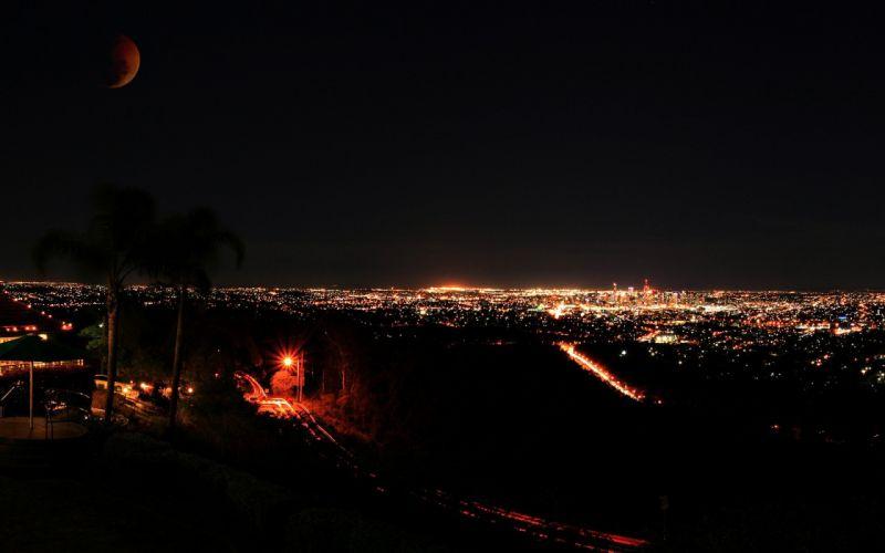 night citylights cities wallpaper