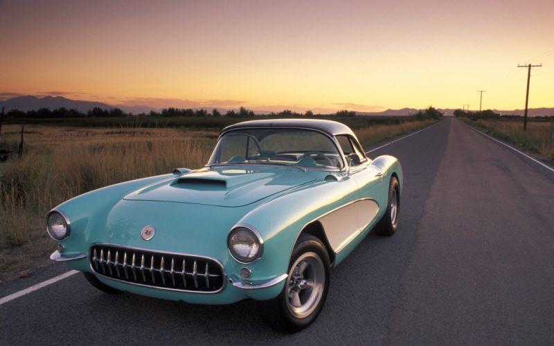 Corvette classic cars wallpaper