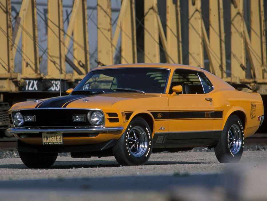 cars Ford Mustang Mach 1 wallpaper