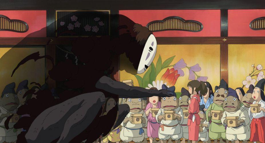 Spirited Away Studio Ghibli wallpaper