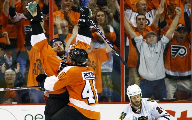 hockey NHL Philadelphia Flyers icehockey Danny Briere wallpaper