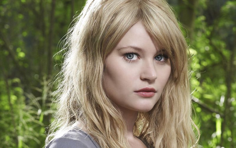blondes women blue eyes actress Emilie de Ravin wallpaper