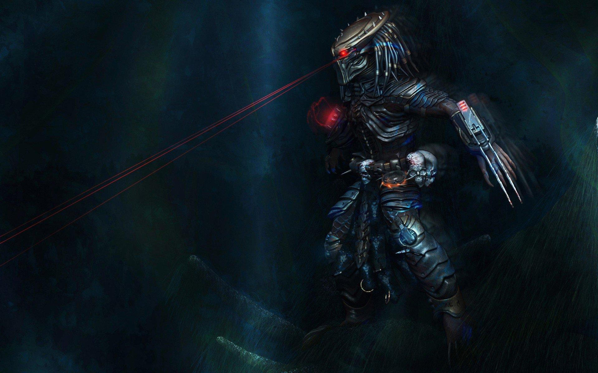 Skulls movies monsters predator creatures science fiction ...