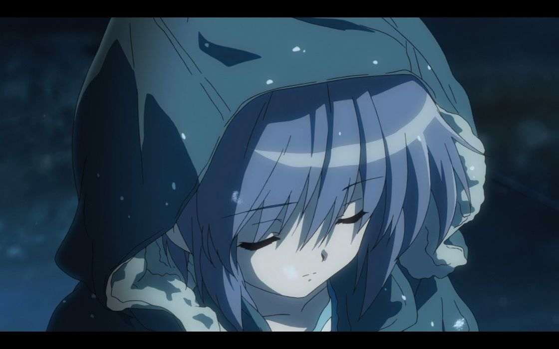 Nagato Yuki The Melancholy of Haruhi Suzumiya anime girls wallpaper