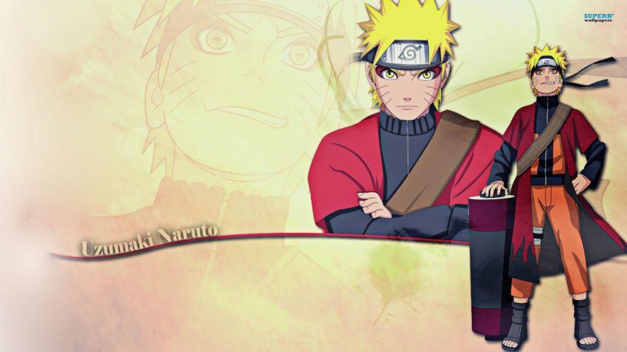 Naruto: Shippuden anime anime boys Sage Mode Uzumaki Naruto wallpaper