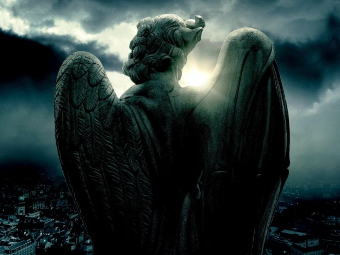 fantasy Angels and Demons wallpaper