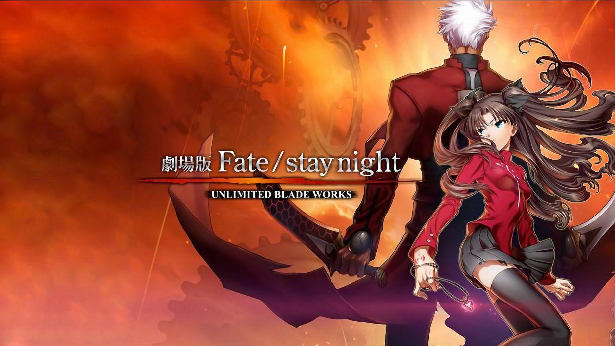 Fate Stay Night Tohsaka Rin Archer Fate Stay Night Fate Series