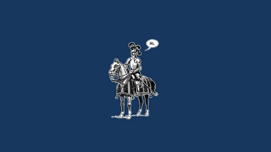 minimalistic knight Monty Python Glennz Monty Python and the Holy Grail wallpaper