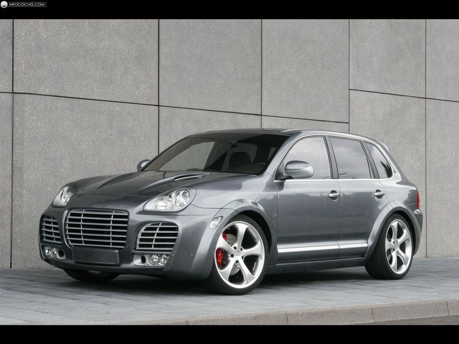 Magnum turbo Porsche Cayenne TechArt wallpaper
