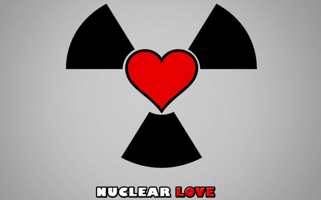 love nuclear hearts nuclear love wallpaper