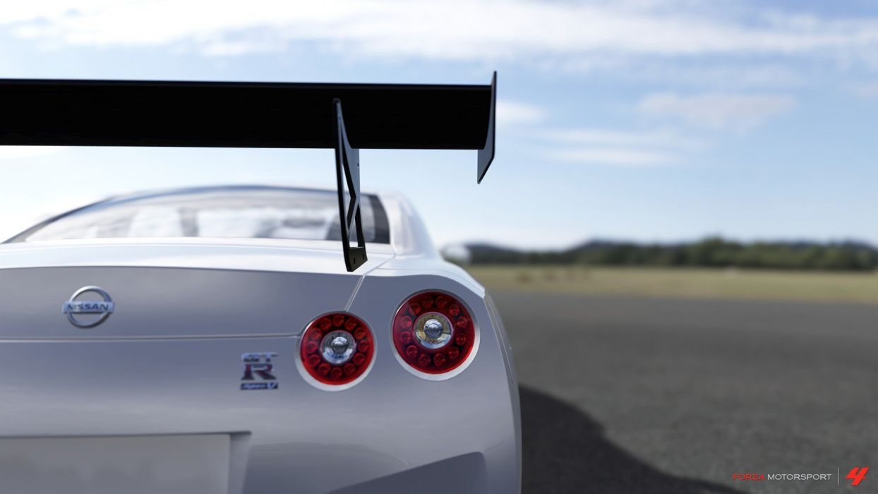 video games cars Xbox 360 Forza Motorsport 4 Nissan GT-R wallpaper