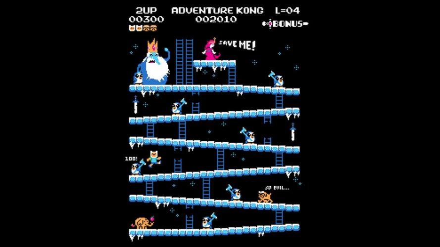 parody Donkey Kong Adventure Time kong adventure retro games Nosfyrr wallpaper