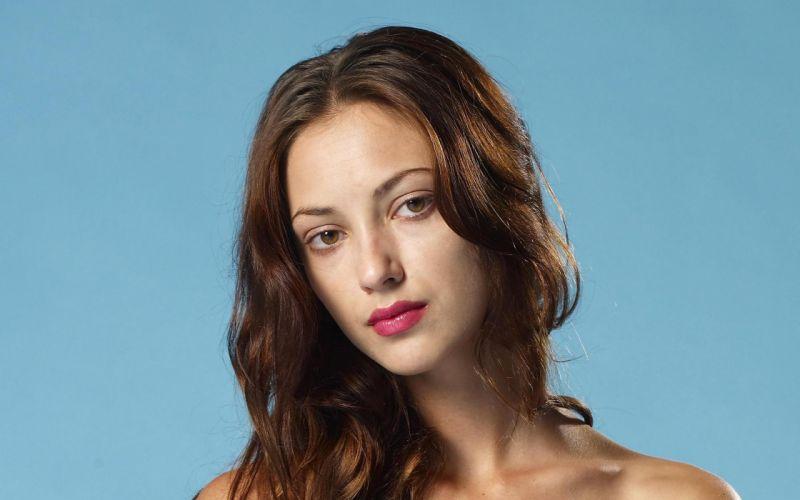 brunettes women close-up eyes brown eyes Anna Sbitnaya faces Ukrainian wallpaper