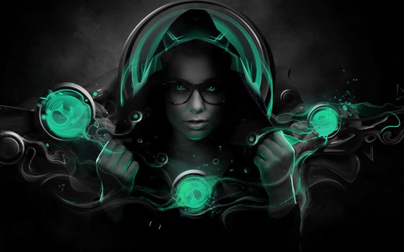 brunettes women glasses TagNotAllowedTooSubjective photo manipulation girls with glasses wallpaper