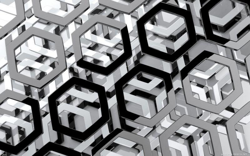 abstract hexagon wallpaper
