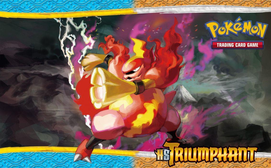 Pokemon Magmortar wallpaper