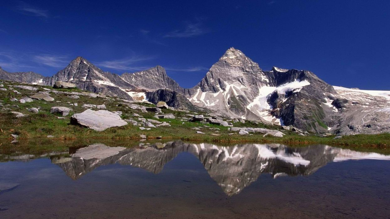 Canada glacier British Columbia National Park Mount wallpaper