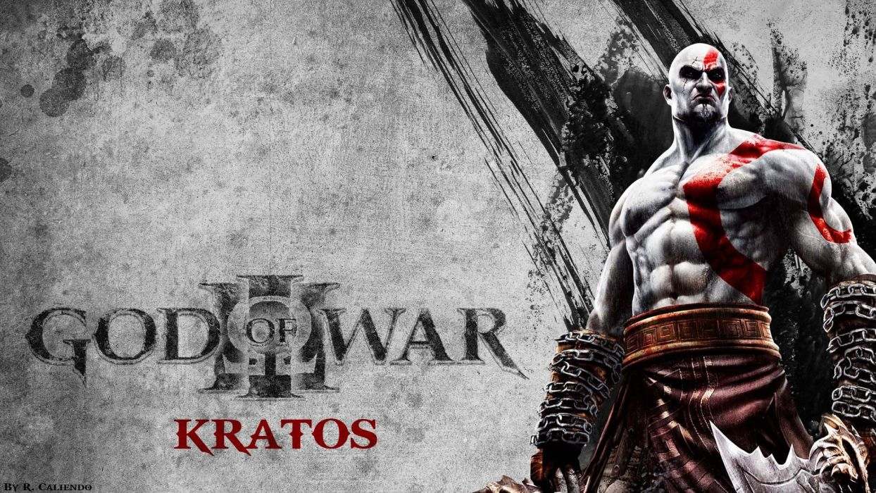 Kratos God of War pc games wallpaper