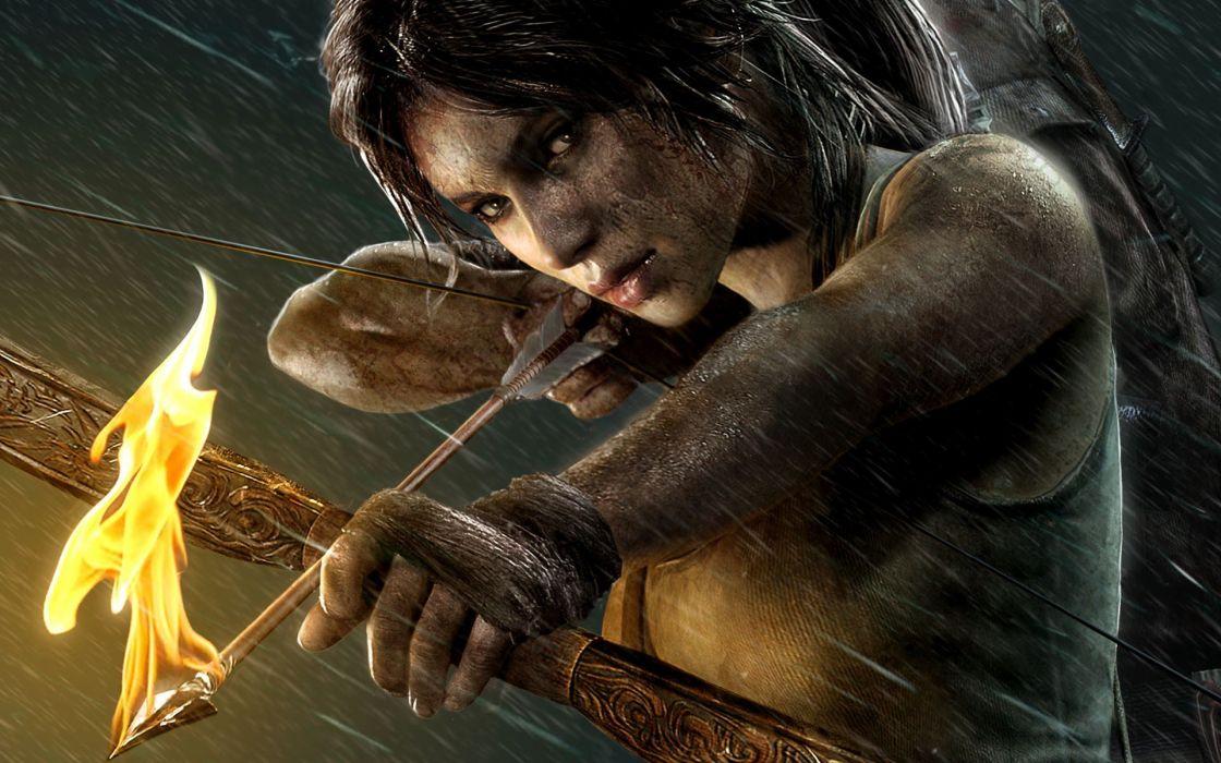 Tomb Raider Lara Croft wallpaper