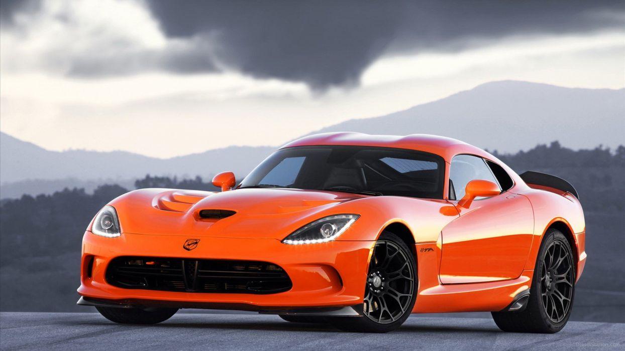 cars Dodge SRT Viper wallpaper