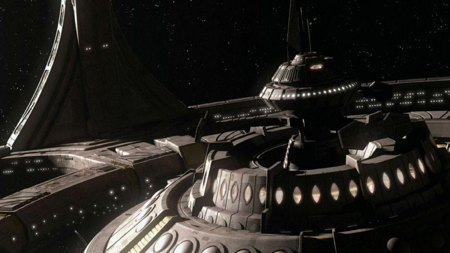 DEEP SPACE NINE Star Trek futuristic television sci-fi spaceship (1) wallpaper