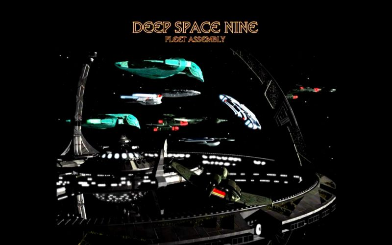 DEEP SPACE NINE Star Trek futuristic television sci-fi spaceship (28) wallpaper