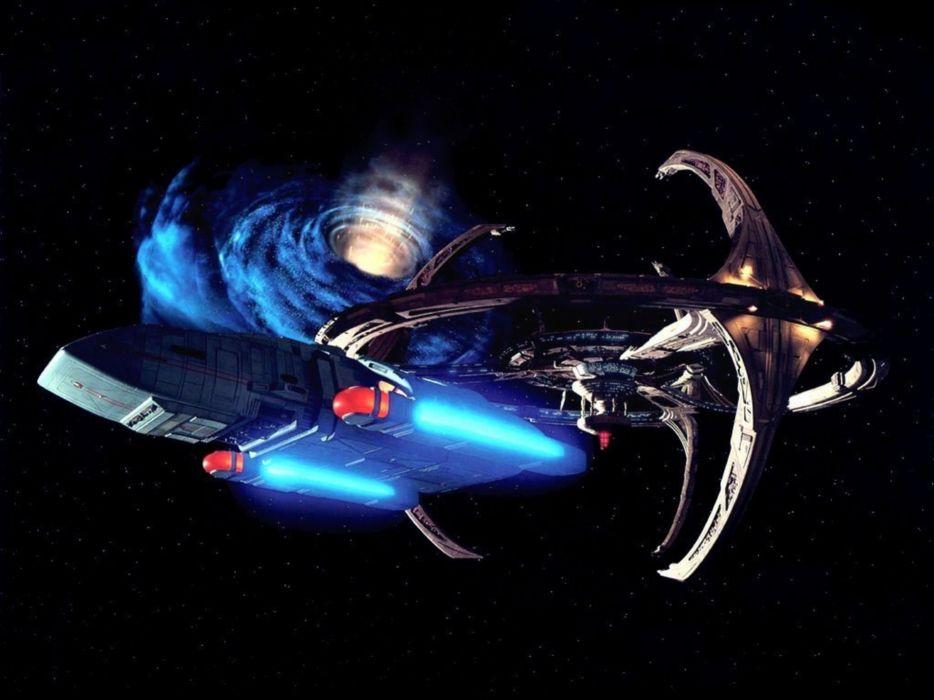 DEEP SPACE NINE Star Trek futuristic television sci-fi spaceship (29) wallpaper
