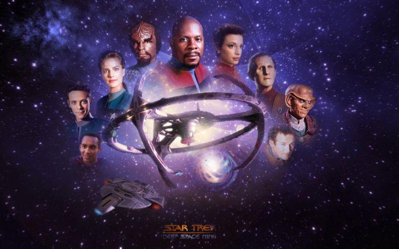 DEEP SPACE NINE Star Trek futuristic television sci-fi spaceship (34) wallpaper
