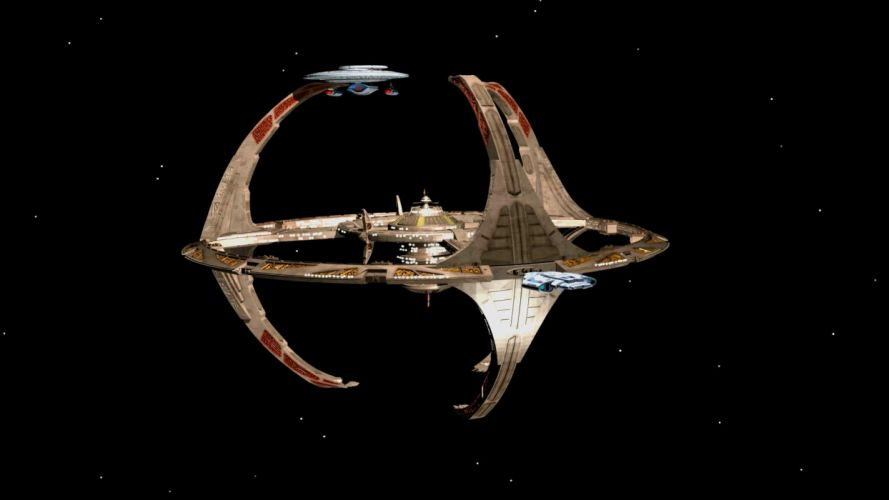 DEEP SPACE NINE Star Trek futuristic television sci-fi spaceship (39) wallpaper