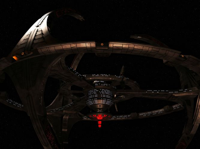 DEEP SPACE NINE Star Trek futuristic television sci-fi spaceship (40) wallpaper