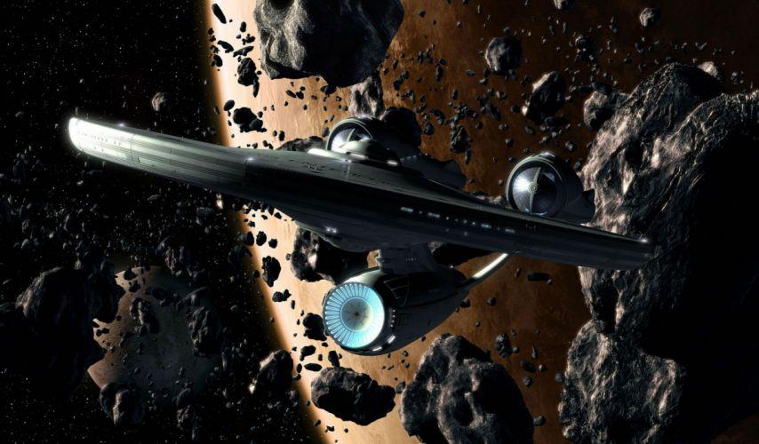 DEEP SPACE NINE Star Trek futuristic television sci-fi spaceship (43) wallpaper