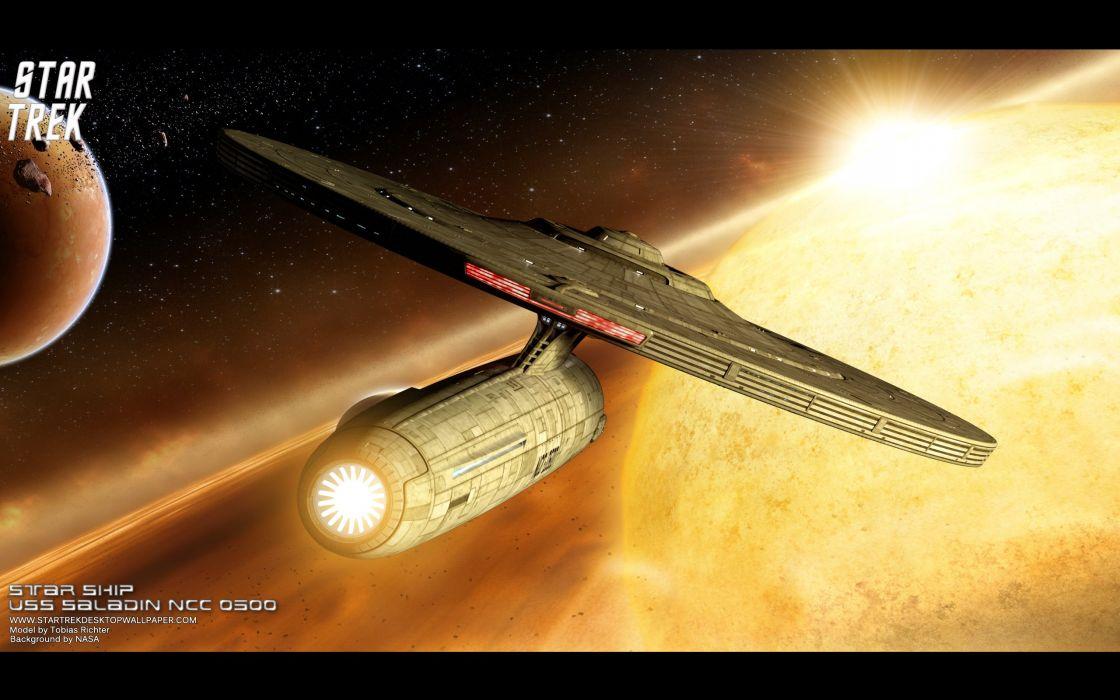DEEP SPACE NINE Star Trek futuristic television sci-fi spaceship (45) wallpaper