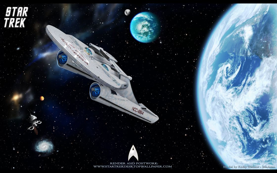 DEEP SPACE NINE Star Trek futuristic television sci-fi spaceship poster wallpaper