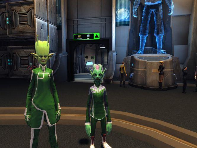 STAR TREK ONLINE game sci-fi alien wallpaper
