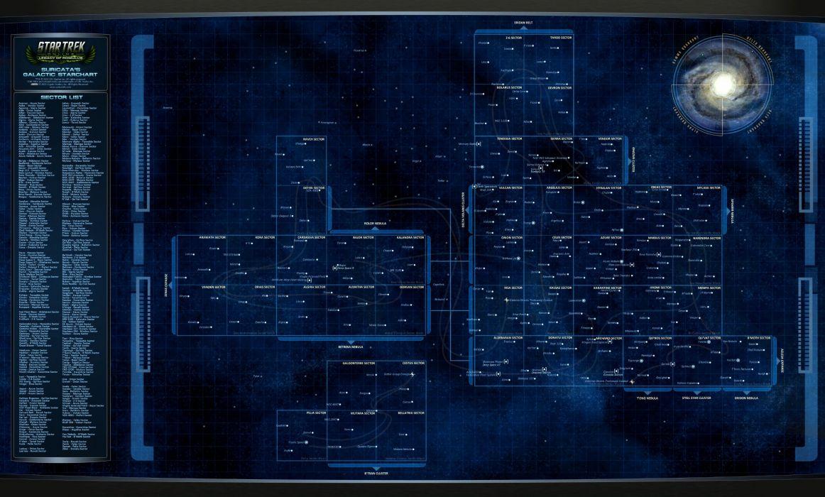 STAR TREK ONLINE game sci-fi poster wallpaper