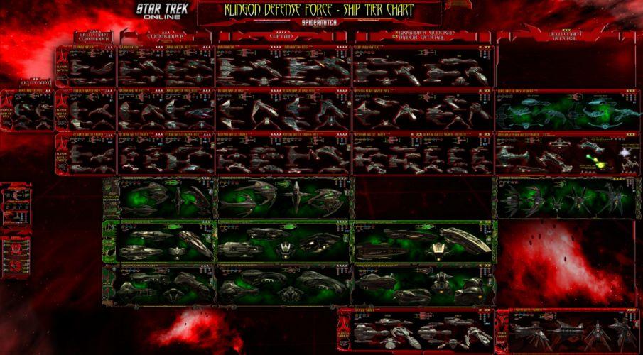 STAR TREK ONLINE game sci-fi spaceship poster wallpaper