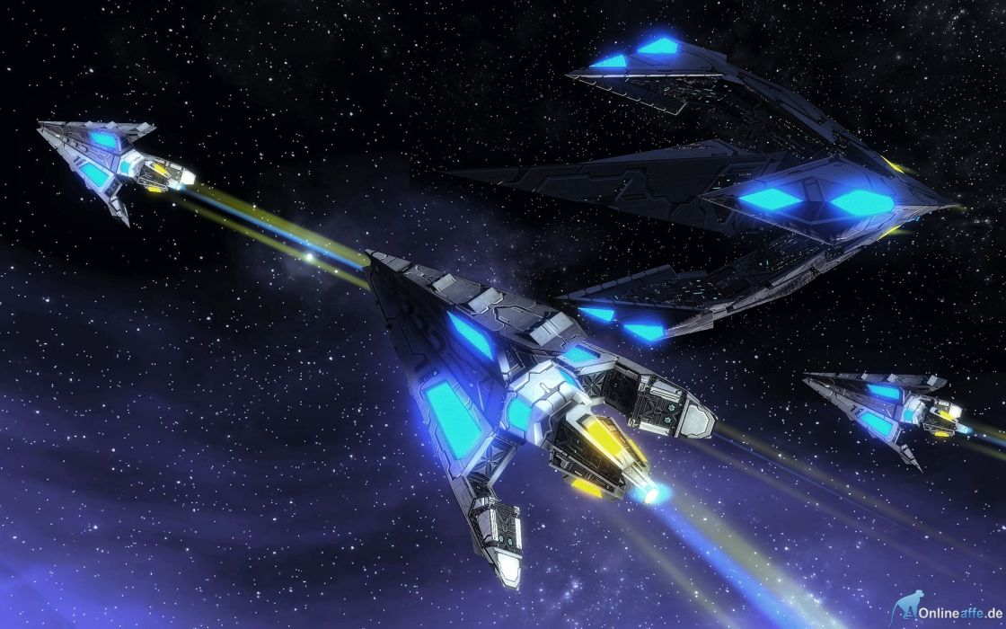 STAR TREK ONLINE game sci-fi futuristic spaceship wallpaper