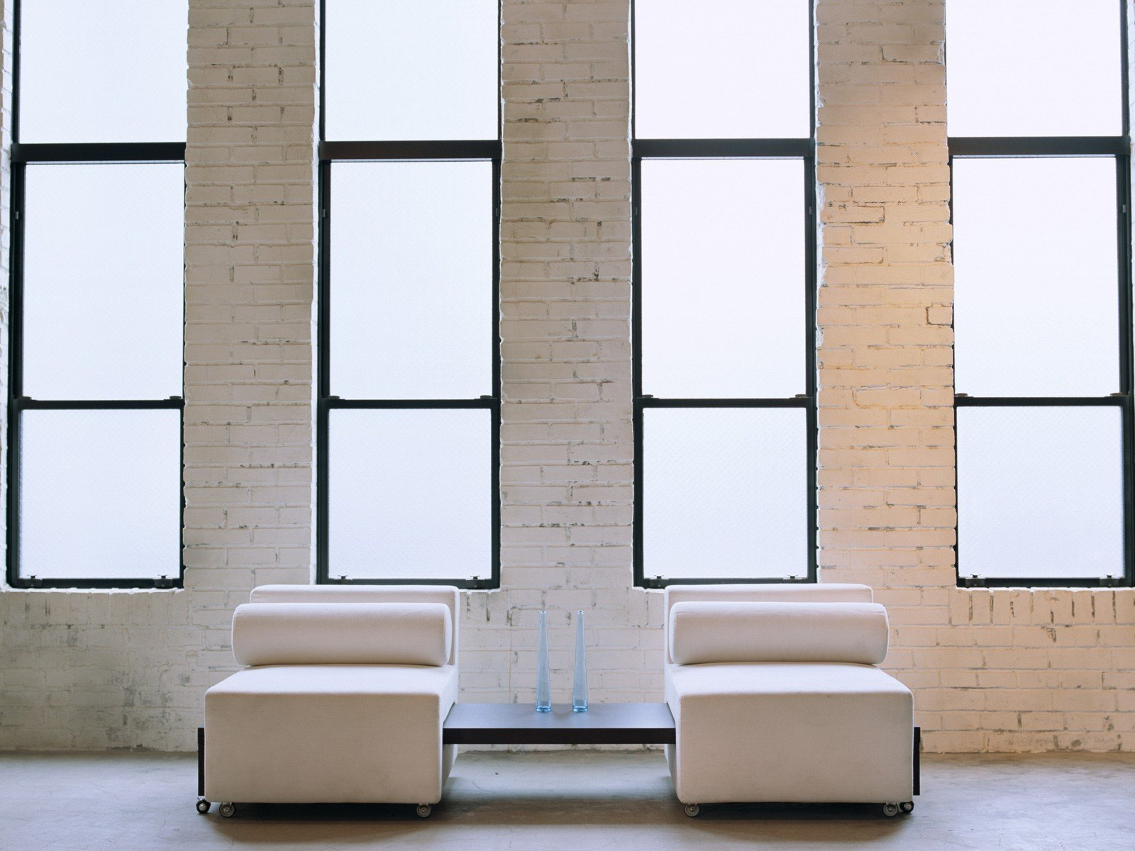 interior wall with window plexiglass chairs cushion window panes brick wall vases interior design wallpaper 1600x1200 263764 wallpaperup