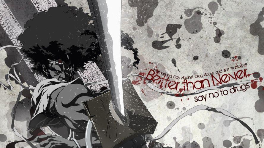 Afro Samurai afro anime anime boys wallpaper