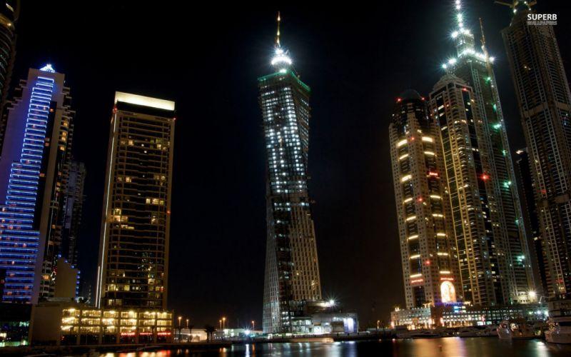 night Dubai wallpaper