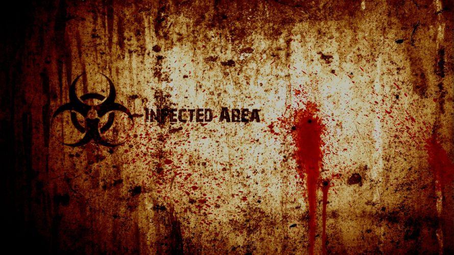 blood biohazard grunge wallpaper