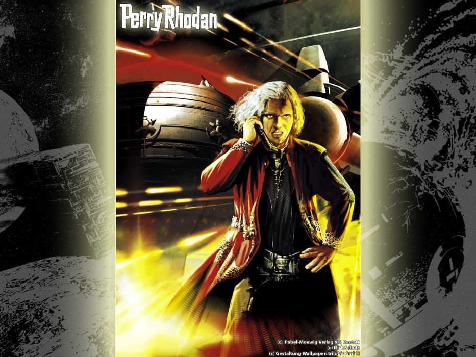 magazines Perry Rhodan science fiction magazine covers wallpaper