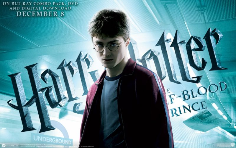 Harry Potter Harry Potter and the Half Blood Prince Daniel Radcliffe men with glasses wallpaper