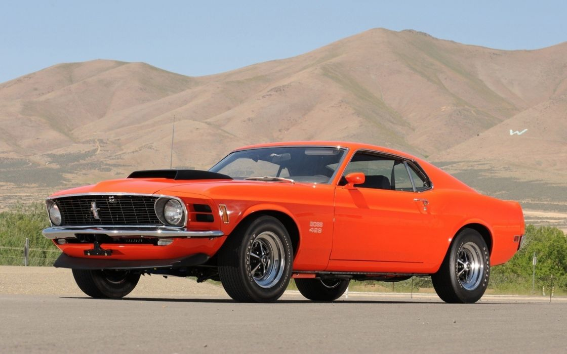 cars Ford muscle cars vehicles Ford Mustang orange cars wallpaper