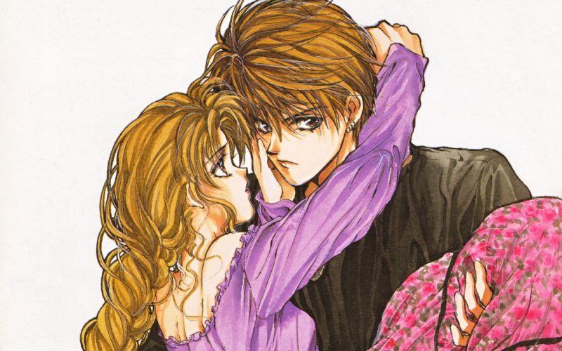 couple manga Angel Sanctuary wallpaper